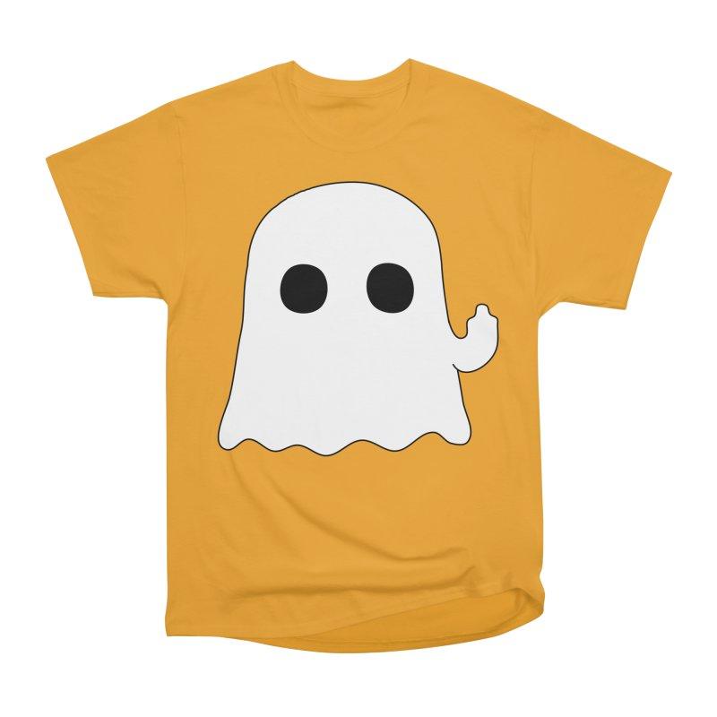 Boo Women's Heavyweight Unisex T-Shirt by oneweirddude's Artist Shop