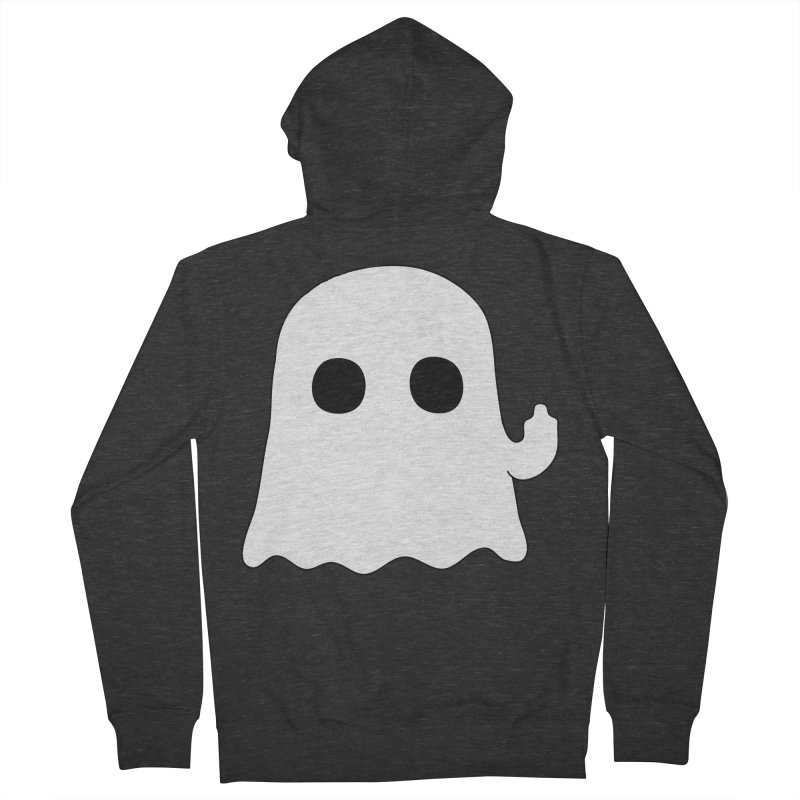 Boo Women's Zip-Up Hoody by oneweirddude's Artist Shop