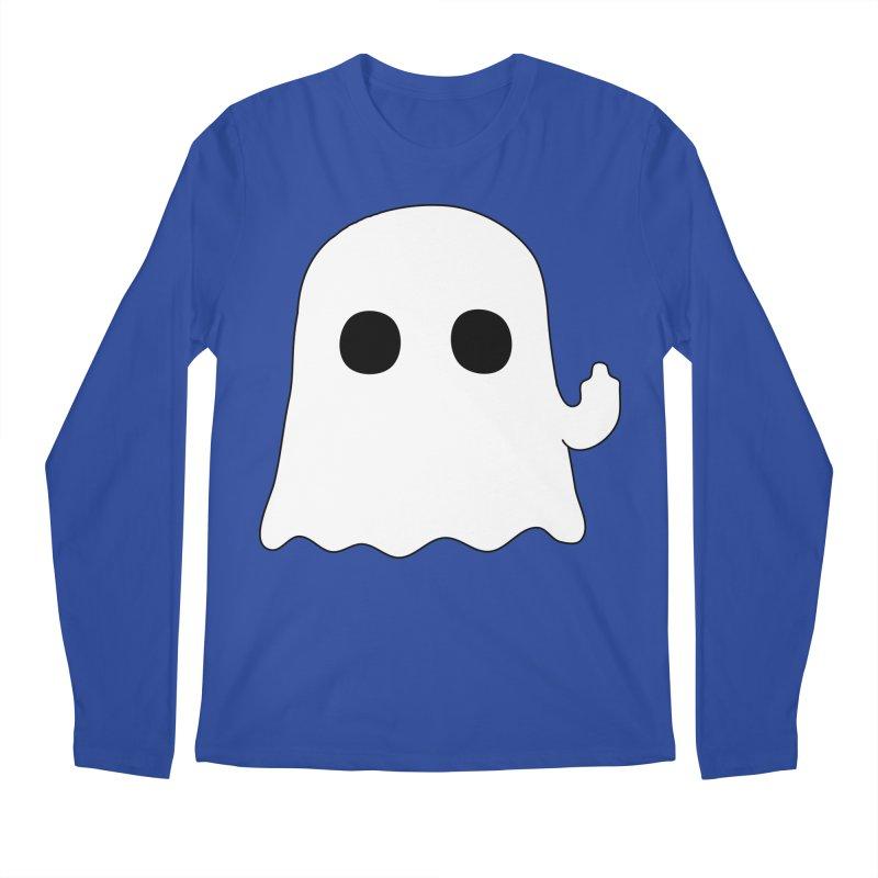 Boo Men's Regular Longsleeve T-Shirt by oneweirddude's Artist Shop