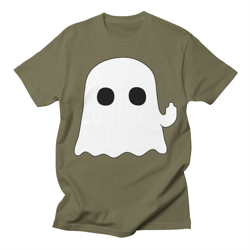 Boo Men's Regular T-Shirt by oneweirddude's Artist Shop