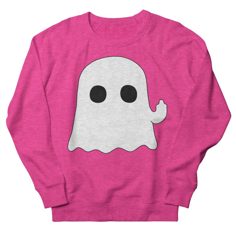Boo Women's French Terry Sweatshirt by oneweirddude's Artist Shop