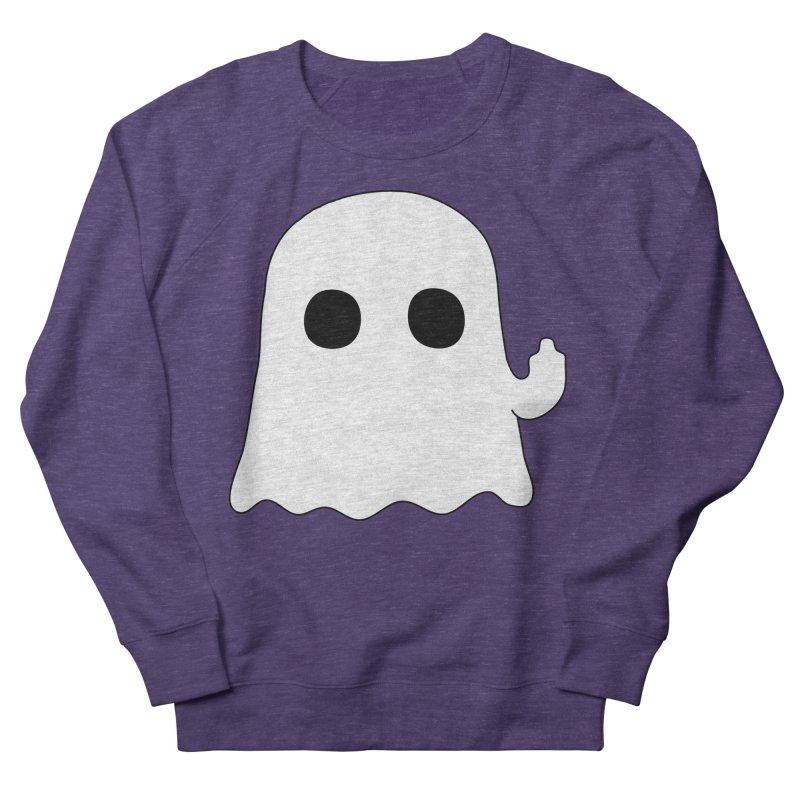 Boo Men's French Terry Sweatshirt by oneweirddude's Artist Shop