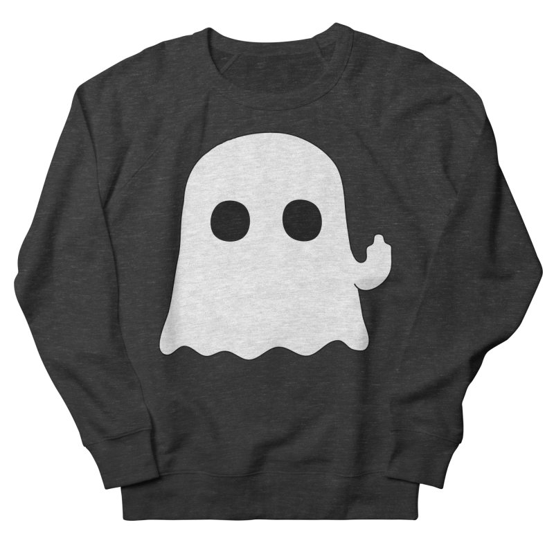 Boo Men's French Terry Sweatshirt by oneweirddude's Artist Shop