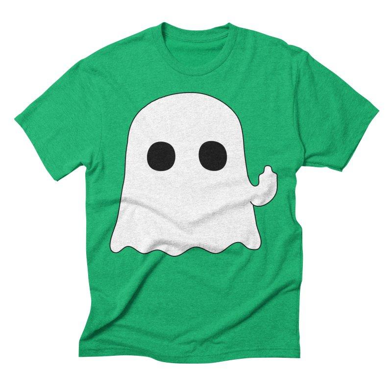 Boo Men's Triblend T-Shirt by oneweirddude's Artist Shop