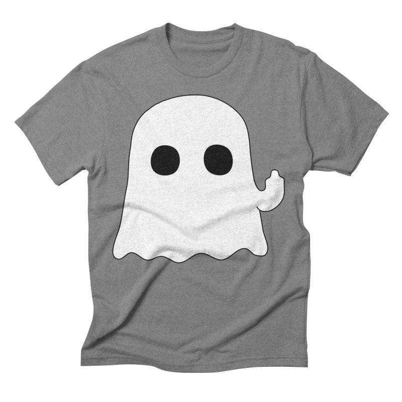 Boo Men's Triblend T-Shirt by oneweirddude's Artist Shop