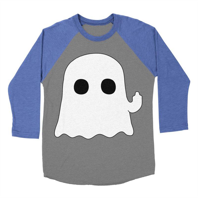 Boo Women's Baseball Triblend T-Shirt by oneweirddude's Artist Shop