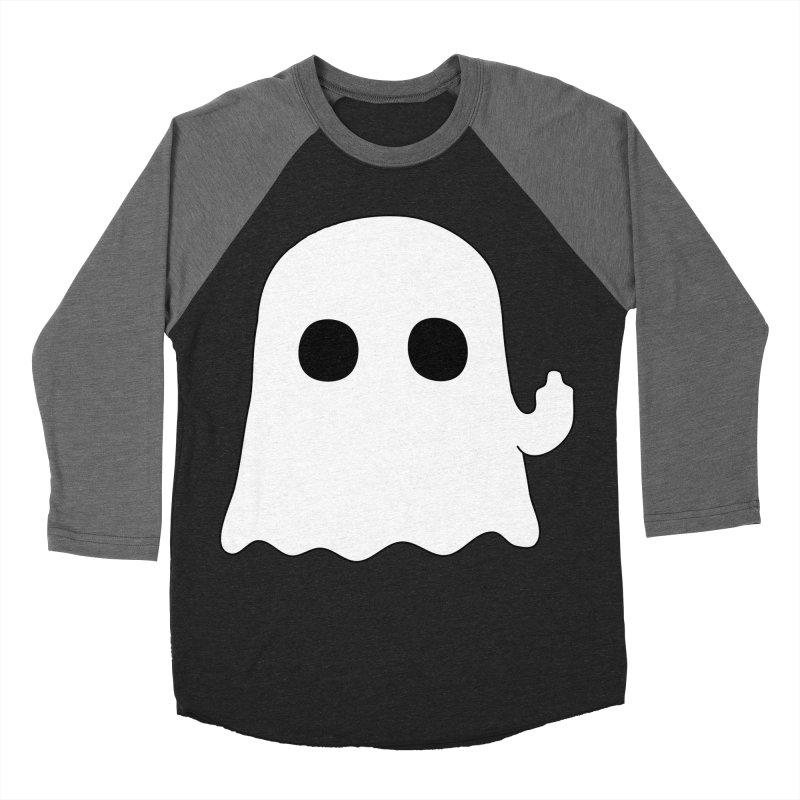 Boo Men's Baseball Triblend T-Shirt by oneweirddude's Artist Shop