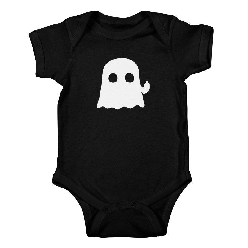 Boo Kids Baby Bodysuit by oneweirddude's Artist Shop