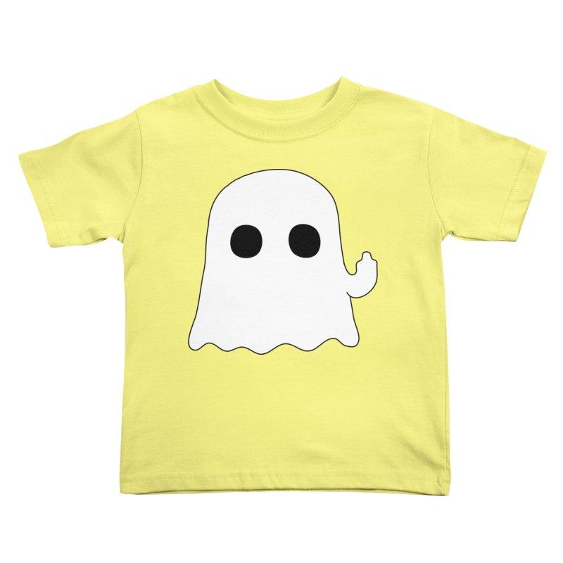 Boo Kids Toddler T-Shirt by oneweirddude's Artist Shop