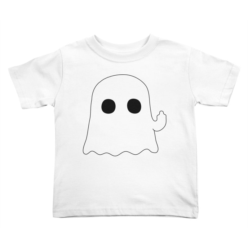 Boo Kids Toddler T-Shirt by oneweirddude's Artist Shop