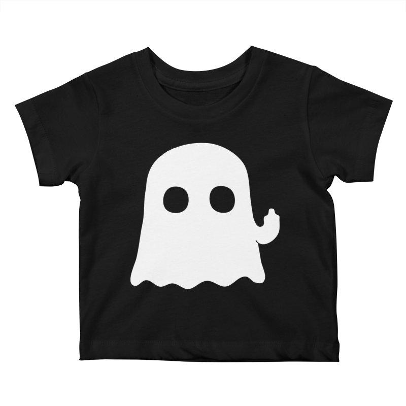 Boo Kids Baby T-Shirt by oneweirddude's Artist Shop
