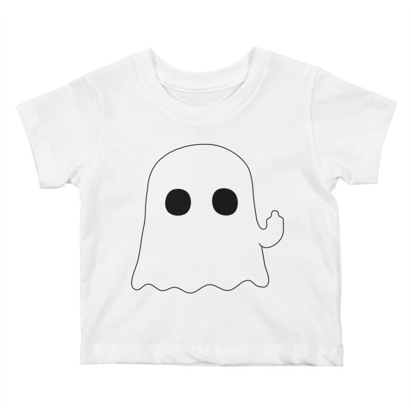 Boo Kids Baby T-Shirt by oneweirddude's Artist Shop