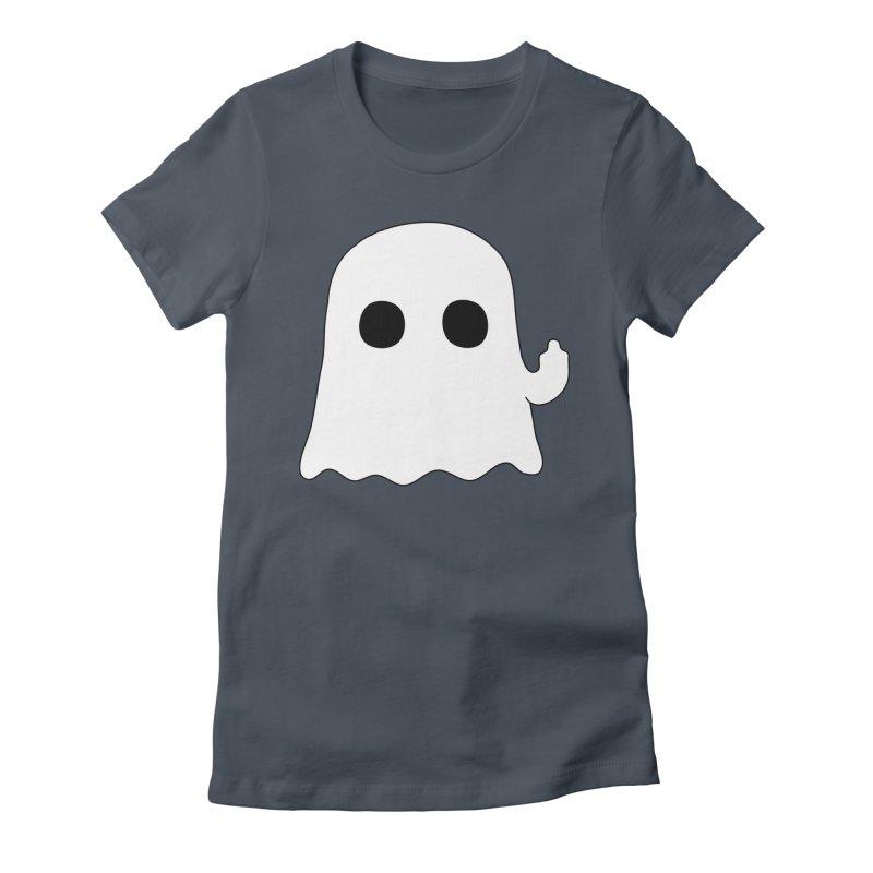 Boo Women's T-Shirt by oneweirddude's Artist Shop