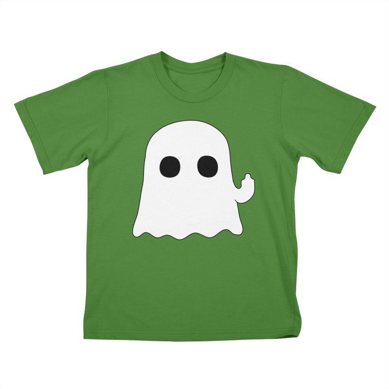 Boo Kids T-Shirt by oneweirddude's Artist Shop