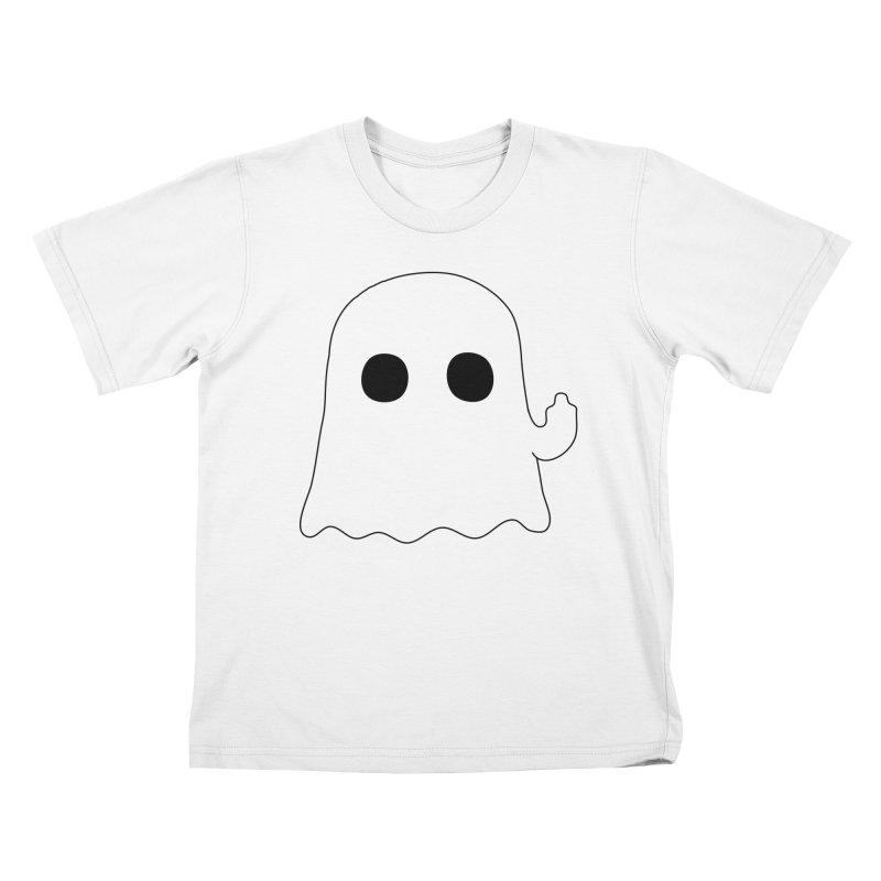 Boo Kids T-Shirt by oneweirddude's Artist Shop