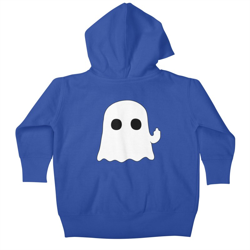 Boo Kids Baby Zip-Up Hoody by oneweirddude's Artist Shop