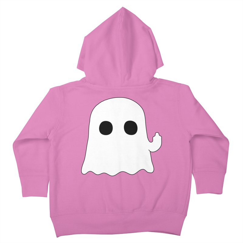Boo Kids Toddler Zip-Up Hoody by oneweirddude's Artist Shop