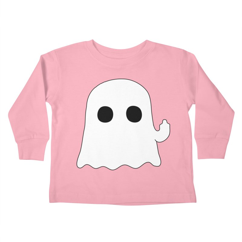 Boo Kids Toddler Longsleeve T-Shirt by oneweirddude's Artist Shop