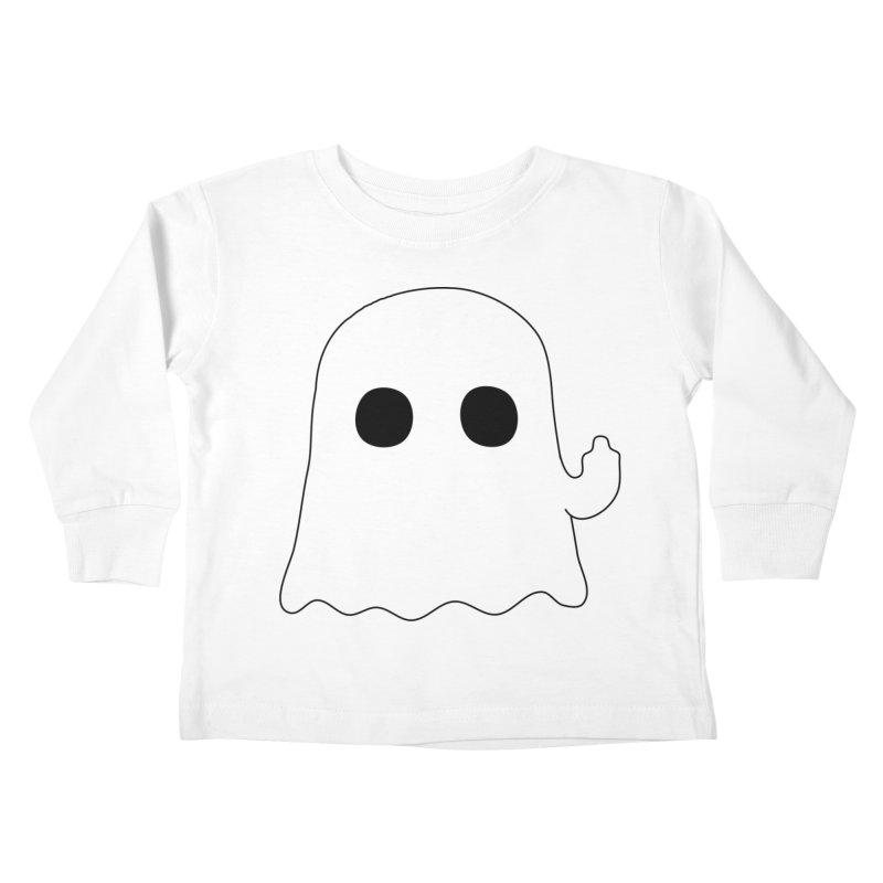 Boo Kids Toddler Longsleeve T-Shirt by oneweirddude's Artist Shop