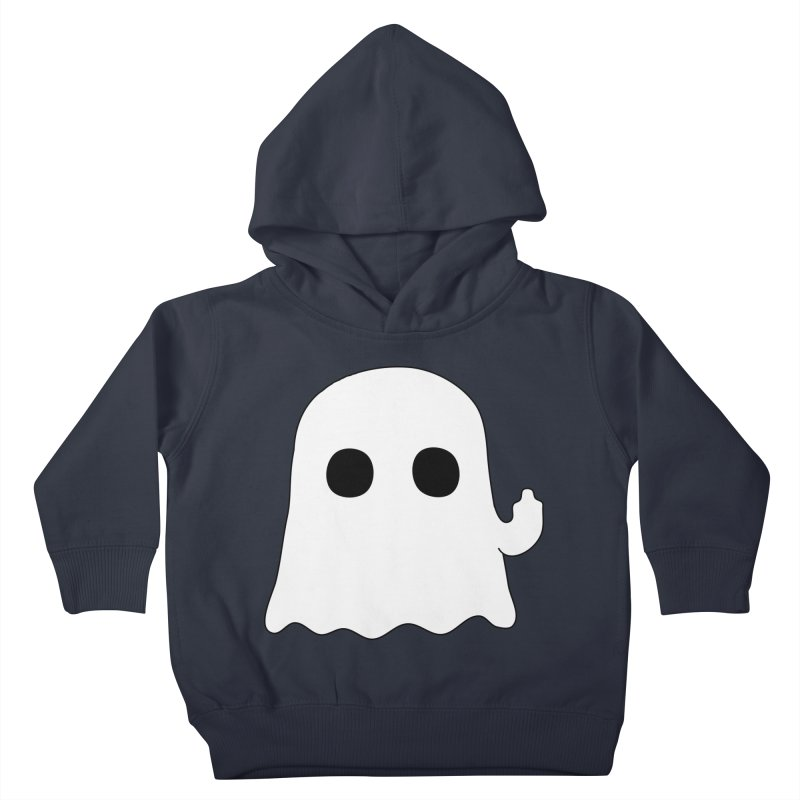 Boo Kids Toddler Pullover Hoody by oneweirddude's Artist Shop