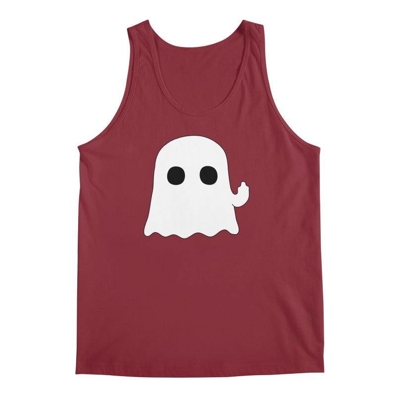 Boo Men's Tank by oneweirddude's Artist Shop