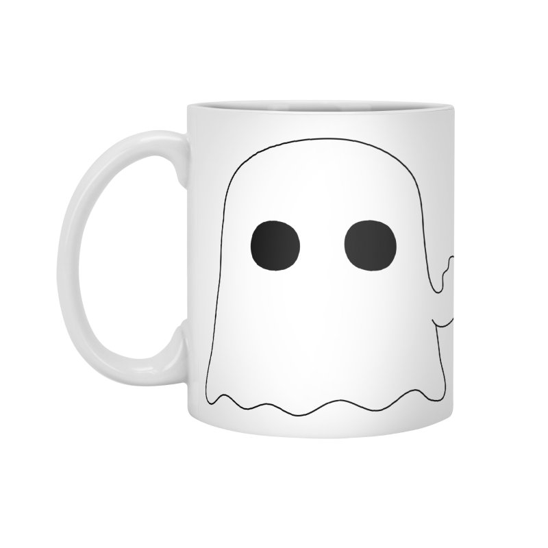 Boo Accessories Standard Mug by oneweirddude's Artist Shop