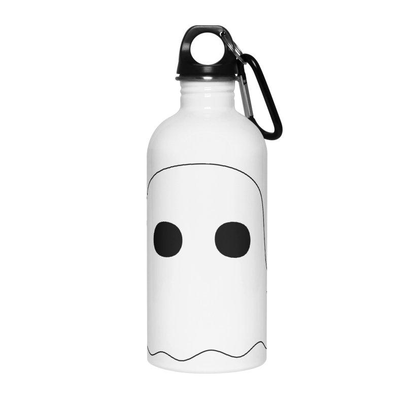 Boo Accessories Water Bottle by oneweirddude's Artist Shop
