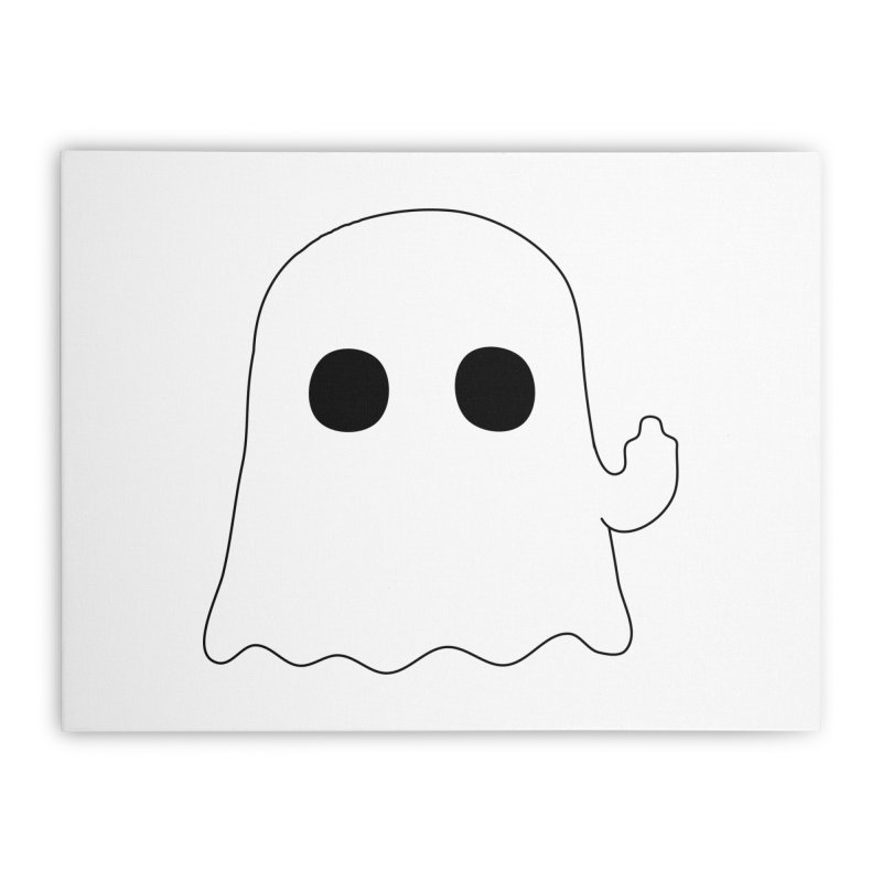 Boo Home Stretched Canvas by oneweirddude's Artist Shop