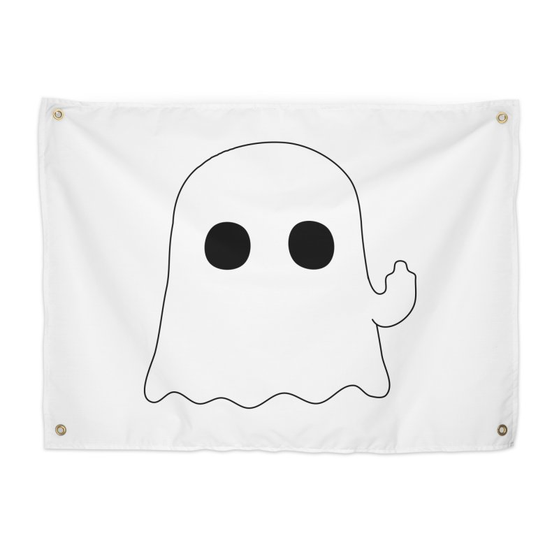 Boo Home Tapestry by oneweirddude's Artist Shop