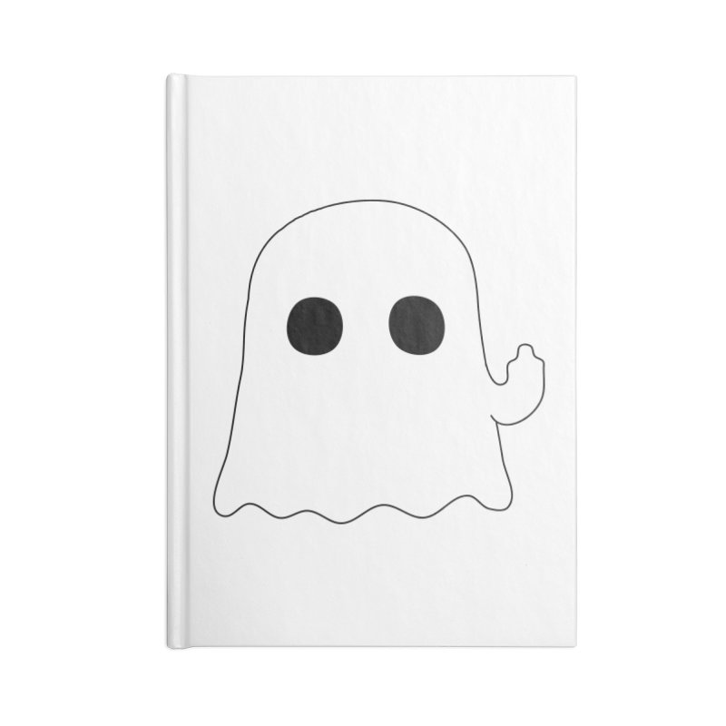 Boo Accessories Blank Journal Notebook by oneweirddude's Artist Shop