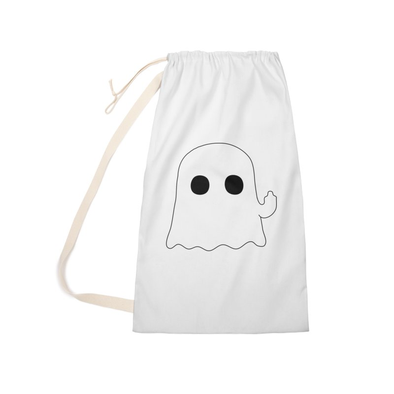 Boo Accessories Laundry Bag Bag by oneweirddude's Artist Shop