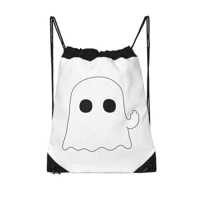 Boo Accessories Drawstring Bag Bag by oneweirddude's Artist Shop
