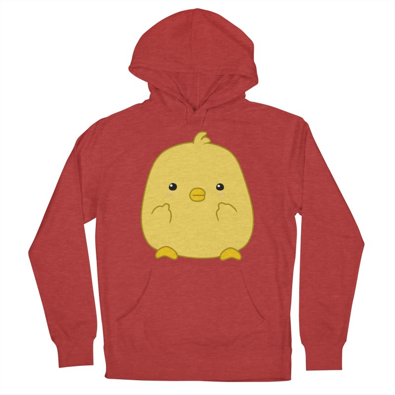 Cute Chick Has Had Enough Men's French Terry Pullover Hoody by oneweirddude's Artist Shop