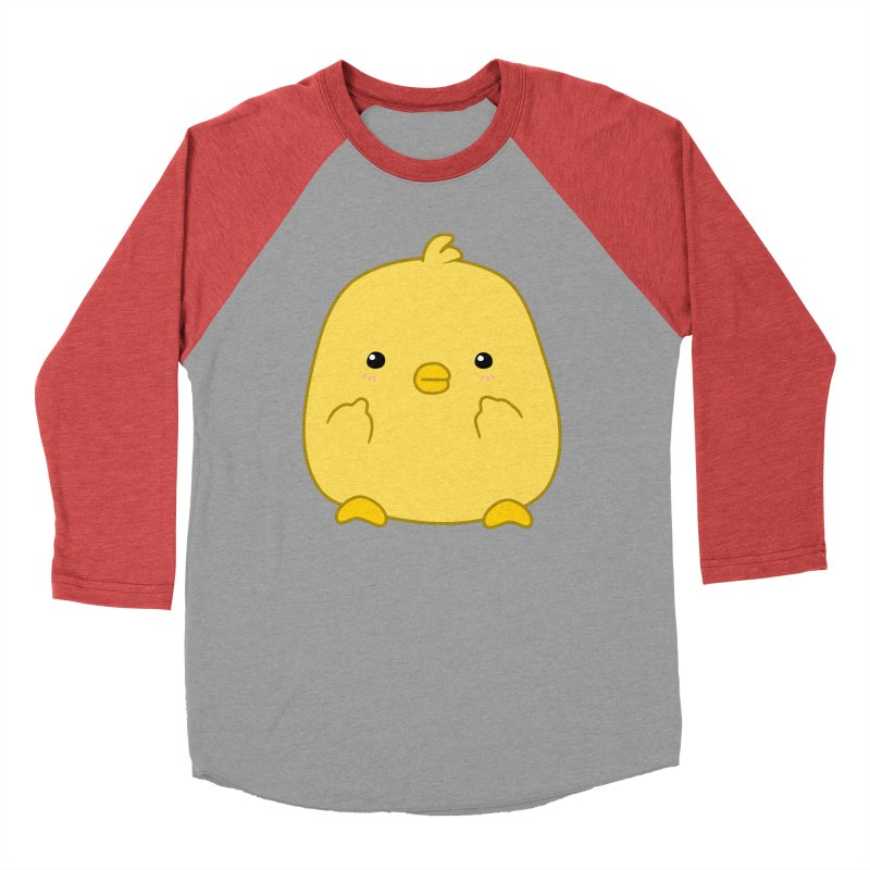 Cute Chick Has Had Enough Women's Baseball Triblend Longsleeve T-Shirt by oneweirddude's Artist Shop