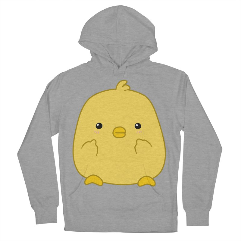 Cute Chick Has Had Enough Women's French Terry Pullover Hoody by oneweirddude's Artist Shop