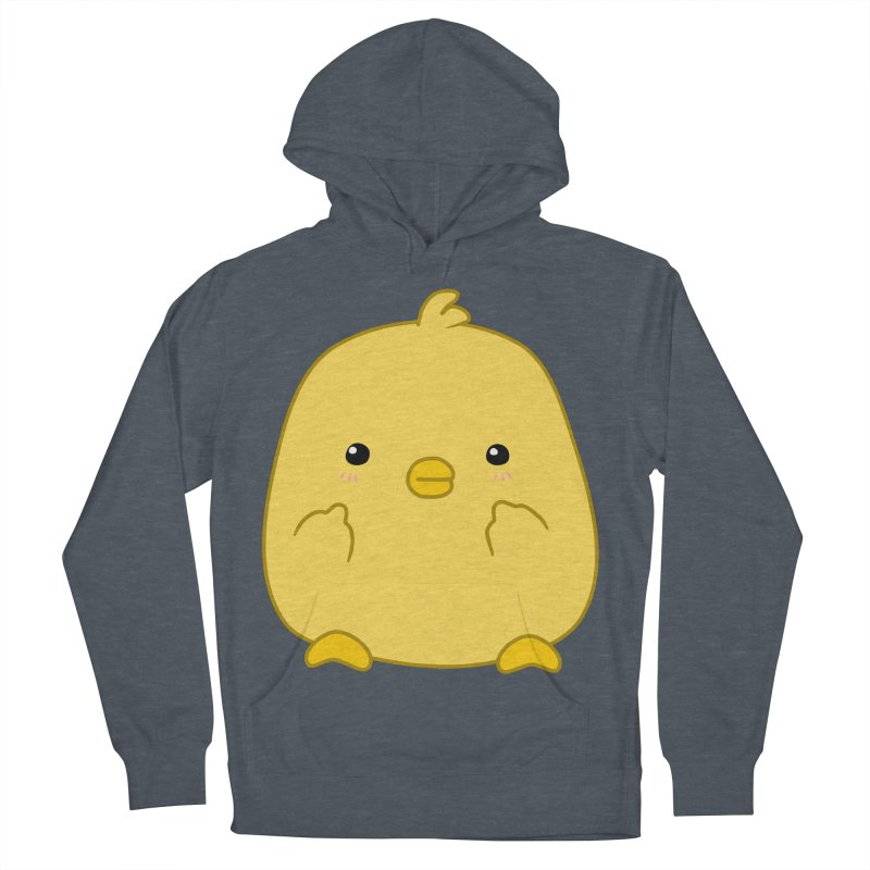 Cute Chick Has Had Enough Men's Pullover Hoody by oneweirddude's Artist Shop