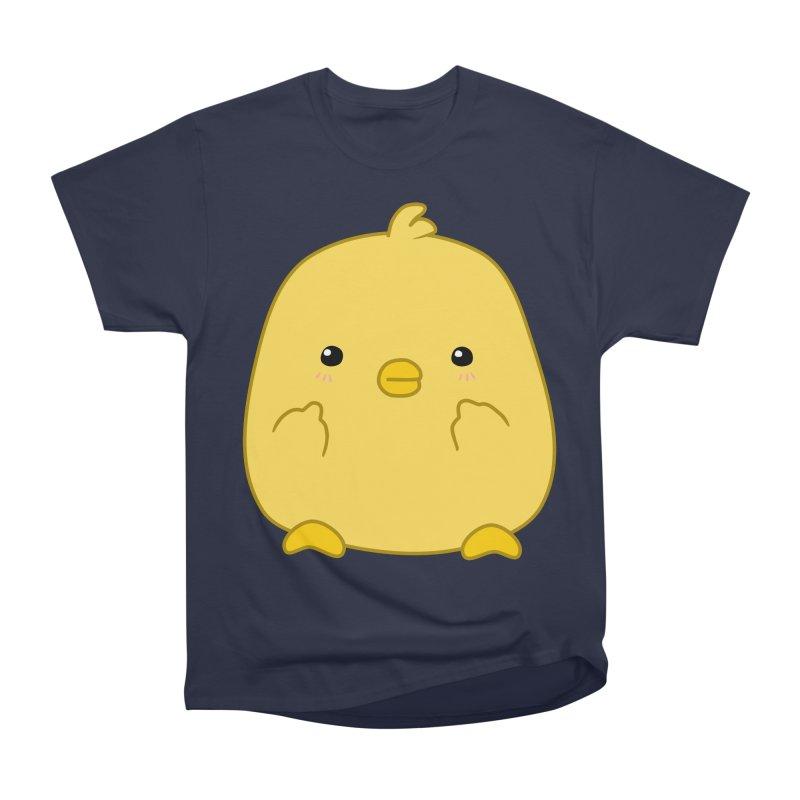 Cute Chick Has Had Enough Women's Heavyweight Unisex T-Shirt by oneweirddude's Artist Shop
