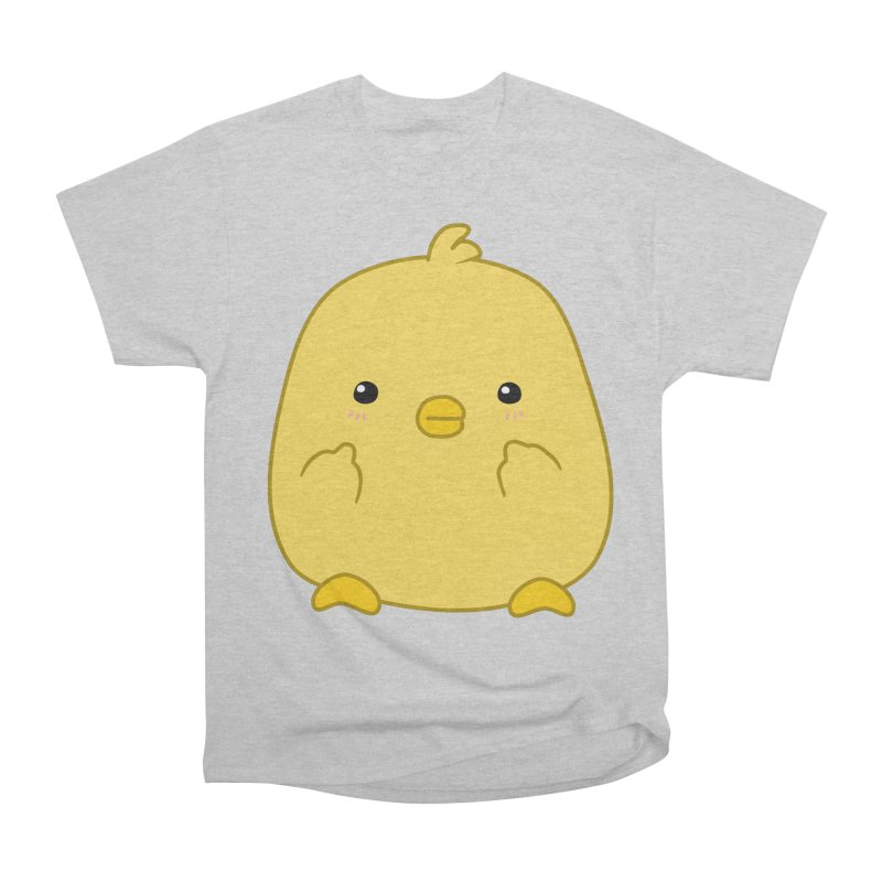 Cute Chick Has Had Enough Women's Classic Unisex T-Shirt by oneweirddude's Artist Shop