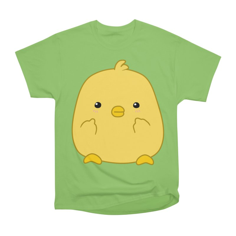Cute Chick Has Had Enough Women's Heavyweight Unisex T-Shirt by oneweirddude's Artist Shop