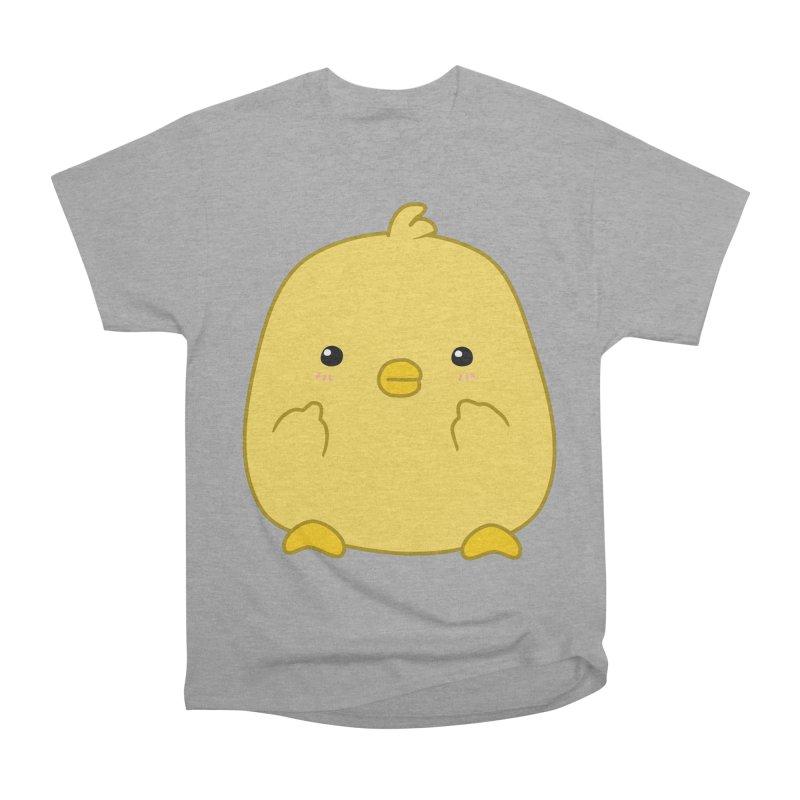 Cute Chick Has Had Enough Men's Heavyweight T-Shirt by oneweirddude's Artist Shop
