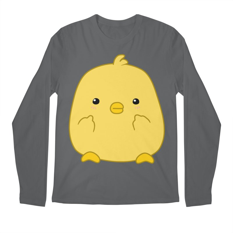 Cute Chick Has Had Enough Men's Longsleeve T-Shirt by oneweirddude's Artist Shop
