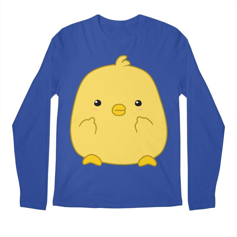 Cute Chick Has Had Enough Men's Regular Longsleeve T-Shirt by oneweirddude's Artist Shop