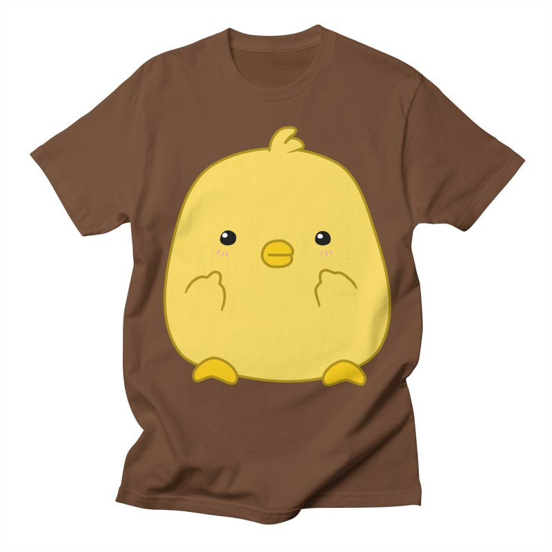 Cute Chick Has Had Enough Men's T-Shirt by oneweirddude's Artist Shop