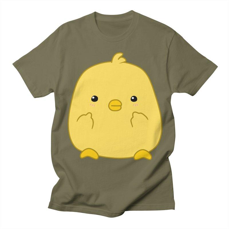 Cute Chick Has Had Enough Men's Regular T-Shirt by oneweirddude's Artist Shop