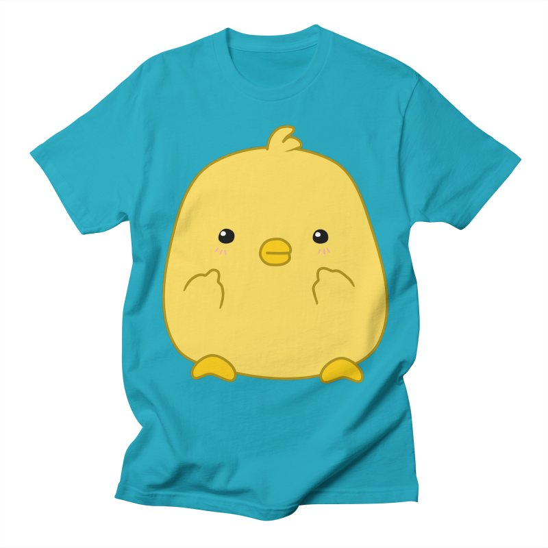 Cute Chick Has Had Enough Men's Regular T-Shirt by oneweirddude's Artist Shop