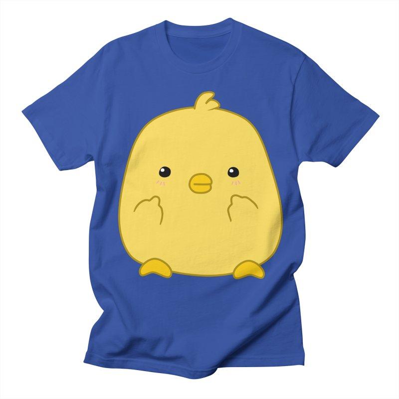 Cute Chick Has Had Enough Women's Regular Unisex T-Shirt by oneweirddude's Artist Shop