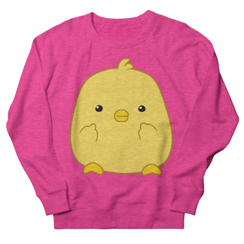 Cute Chick Has Had Enough Men's Sweatshirt by oneweirddude's Artist Shop