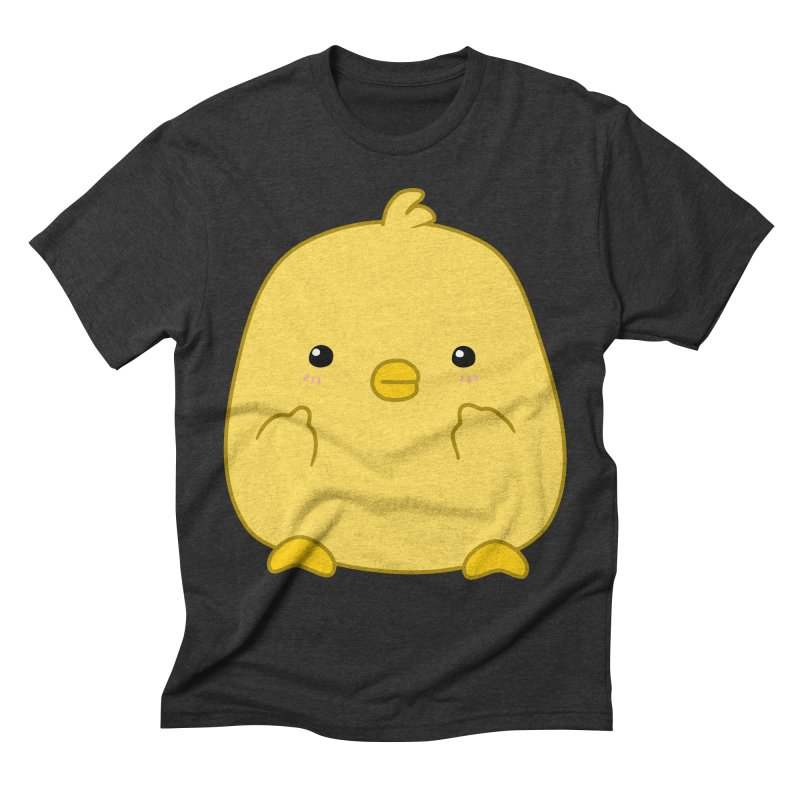 Cute Chick Has Had Enough Men's Triblend T-Shirt by oneweirddude's Artist Shop