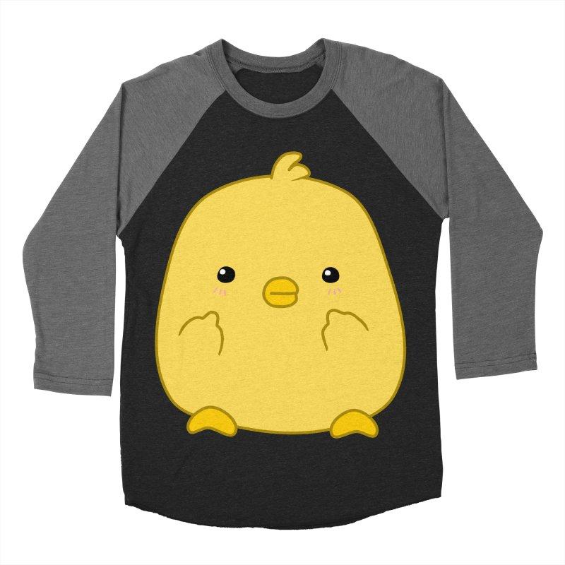 Cute Chick Has Had Enough Women's Baseball Triblend T-Shirt by oneweirddude's Artist Shop