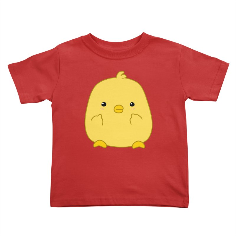 Cute Chick Has Had Enough Kids Toddler T-Shirt by oneweirddude's Artist Shop